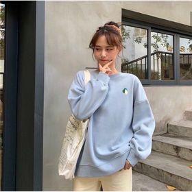 Áo sweater in trái cây chất pe dày mịn đẹp giá sỉ