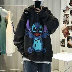 Áo hoodie in hoạt hình cute, chất vải đẹp form chuẩn giá sỉ