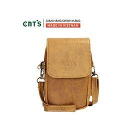 Túi đeo chéo đựng điện thoại nữ CNT TĐX58 xinh xắn BÒ LỢT giá sỉ