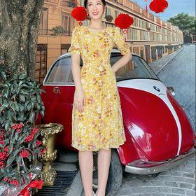 váy hoa mùa hè giá sỉ