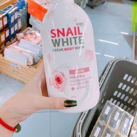Sữa tắm trắng da snail white giá sỉ