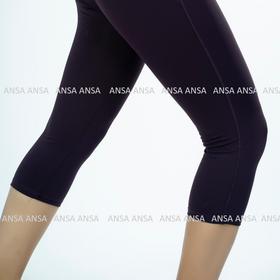 Quần lửng legging thể thao nữ trơn chỉ nổi nâng mông - QL5 giá sỉ