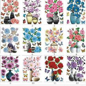 Tranh 4d 5d cánh hoa nổi giá sỉ