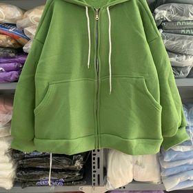 Áo hoodie nỉ ngoại tay phồng nhúm tay đẹp giá sỉ