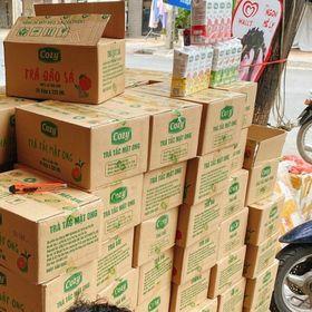 Trà cozy thùng 24 sẵn hàng Sỉ 140k thùng 24 hộp giá sỉ