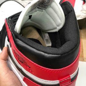 Giày thể thao nam nữ sneaker cổ cao cổ thấp JD đen đỏ giá sỉ