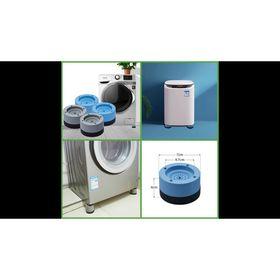 Combo 4 chân kê máy giặt 6 cm chống rung ,máy chạy êm 2021 giá sỉ