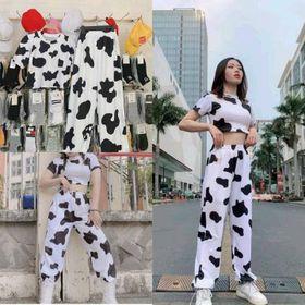 Áo croptop cotton tay lỡ bò sữa đẹp giá sỉ