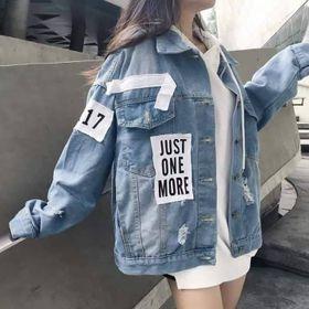 Áo khoác jean unisex thời trang giá sỉ