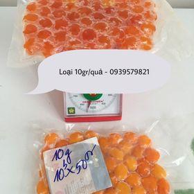 Lòng đỏ trứng muối loại 10gr/quả - Lốc 50 quả giá sỉ