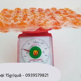 Lòng đỏ trứng muối loại 15gr/quả - Lốc 50 quả giá sỉ