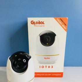 Camera IP Wifi Global IOT-03 2.0Mp 1080p Có Báo Động, Quay Quét 360 Độ giá sỉ