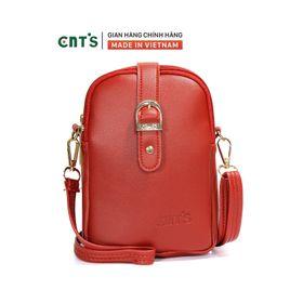 Túi đeo chéo đựng điện thoại nữ CNT TĐX60 nhiều màu dễ thương ĐỎ giá sỉ
