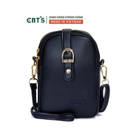 Túi đeo chéo đựng điện thoại nữ CNT TĐX60 nhiều màu dễ thương ĐEN giá sỉ
