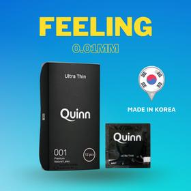 Bao cao su 0.01 Quinn - hộp 12 cái giá sỉ