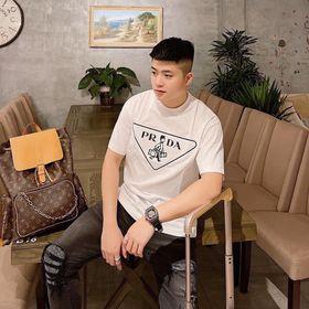 Áo Thun Nam, Áo Phông Tay Lỡ Suông Rộng In Nhiệt Chất Liệu Thun Cotton Thoáng Mát - AC85 giá sỉ
