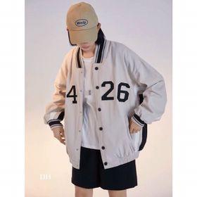 Áo khoác dù kiểu bomber logo 5426 cá tính giá sỉ