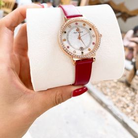 Đồng hồ nữ dây da 01 giá sỉ