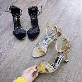 Giày Sandal Gót bảng xinh giá sỉ