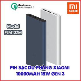 Sạc dự phòng Xiaomi Gen 3 10000mAh giá sỉ