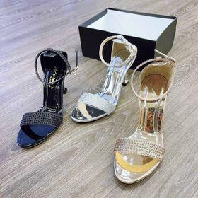 Giày Sandal Đế vuông da bóng 5 phân xinh giá sỉ