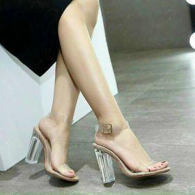 Giày Sandal gót trong 9p giá sỉ