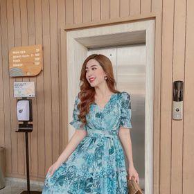 váy voan tơ đanh giá sỉ