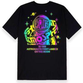 Áo thun phản quang 7 màu in hành tinh siêu hot giá sỉ