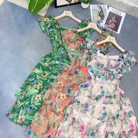 váy hoa bèo giá sỉ
