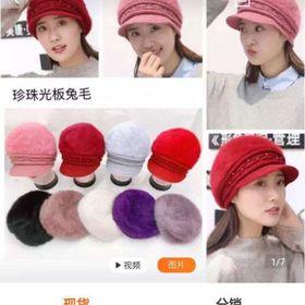 Mũ len lụa nữ thời trang giá sỉ