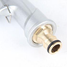 Vòi xịt tăng áp Trắng, Vòi xịt nước tưới cây, rửa xe áp lực cao kim loại Mẫu mới giá sỉ