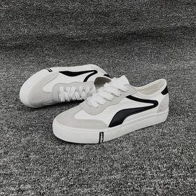 110 Giaỳ sneaker vải phối da tổng hợp nữ giá sỉ