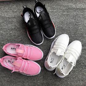 Giày thể thao, Giày sneaker nữ vải phối da tổng hợp - 5260 giá sỉ