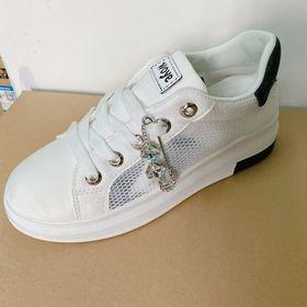 Xả kho - Giày sneaker nữ Da tổng hợp dày hàng chuẩn đẹp - Mẫu 56 giá sỉ