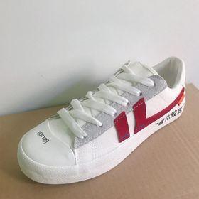 Giày sneaker nữ Da tổng hợp dày hàng chuẩn đẹp giá sỉ