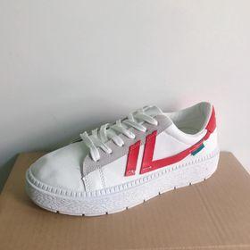 Giày thể thao, giày sneaker nữ Mẫu 03 - Giày sneaker nữ Da tổng hợp dày hàng chuẩn đẹp giá sỉ