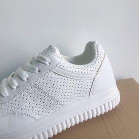 Giày thể thao, giày sneaker nữ Mẫu 13 - Giày sneaker nữ Da tổng hợp dày hàng chuẩn đẹp giá sỉ