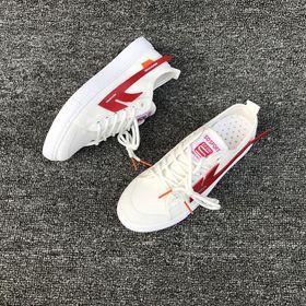Giày thể thao, Giày sneaker thể thao nữ vải phối da tổng hợp dày dặn - 6215 giá sỉ