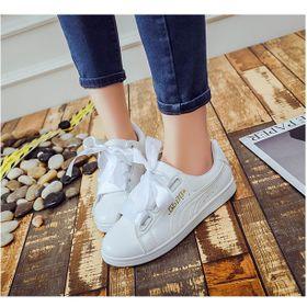 Giày thể thao, Giày sneaker nữ da tổng hợp dày dặn - 888 giá sỉ