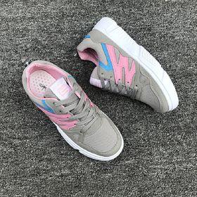 Giày thể thao, Giày sneaker thể thao nữ vải phối da tổng hợp dày dặn - 5284 giá sỉ