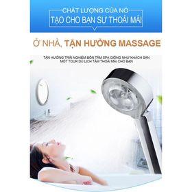 Vòi sen tắm tăng áp nước 2 mặt Nhật Bản - 2 chế độ phun sương massage cơ thể và tăng áp lực nước cực mạnh giá sỉ