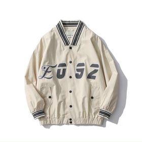 Áo khoác dù kiểu bomber logo in 2 thân bao đẹp giá sỉ