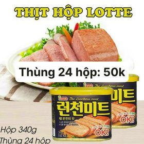 Thịt Hộp Lotte giá sỉ