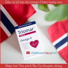 Dầu cá bổ tim Triomar Hjerte từ Na Uy giá sỉ