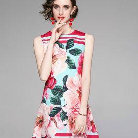 Đầm lụa siêu đẹp dáng trẻ trung giá sỉ