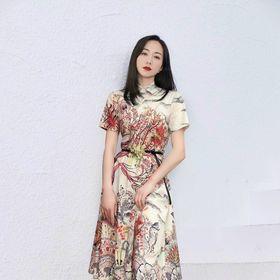 Đầm TK siêu đẹp lụa xinh xắn. giá sỉ
