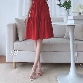 Váy cổ vuông bèo giá sỉ