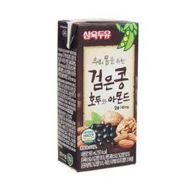 Sữa Đậu Đen, Óc Chó, Hạnh Nhân Sahmyook Foods (190ml / Hộp) giá sỉ