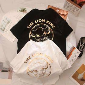 Áo thun phản quang ngũ kim loại THE LION KING cá tính giá sỉ