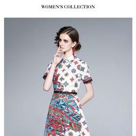 Đầm lụa TK siêu đẹp họa tiết trẻ trung. giá sỉ